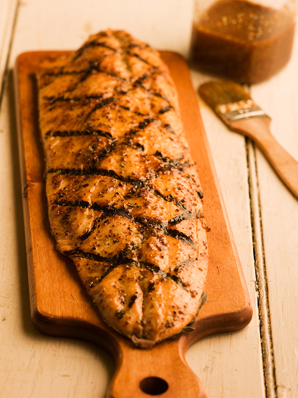 Maple Mustard Grilled Salmon - Chef Michael Smith