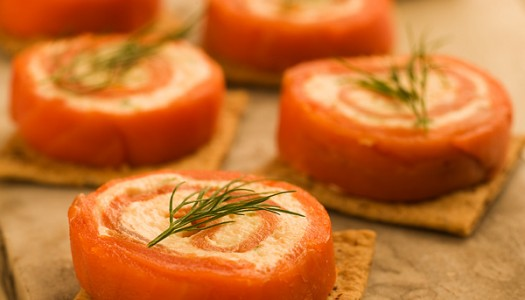 Smoked Salmon Hors d'Oeuvres