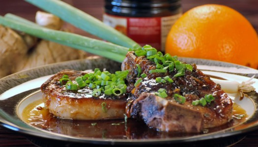 Pork Chops with Ginger Sauce