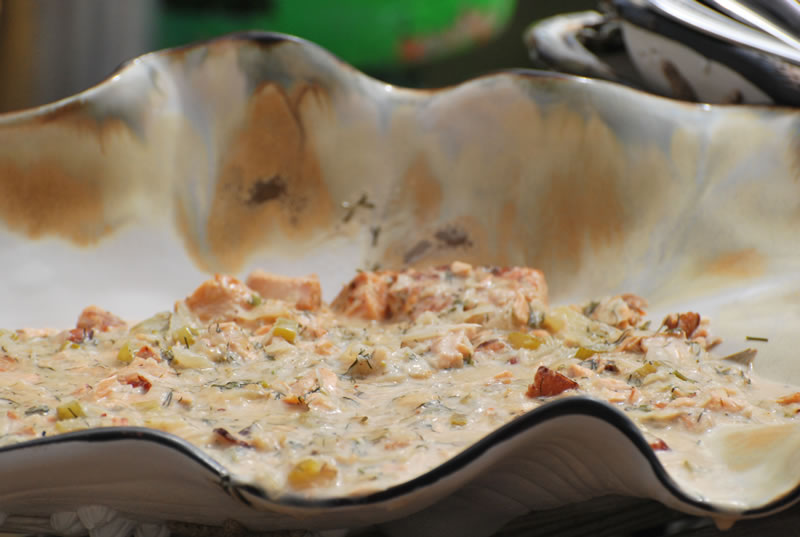Smoked Salmon Chowder - Chef Michael Smith